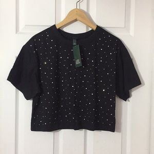 ☼ SUMMER SALE ☼ Wild Fable Studded Crop Top NWT